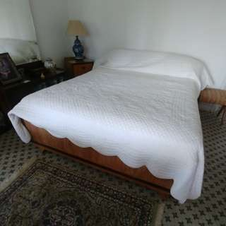 Teak Queen-size Bed