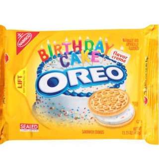 Birthday Cake Limited Edition Oreo (LAST Pack)