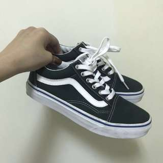 VANS OLD SKOOL 復古綠 23cm