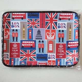 BN Ready Laptop Sleeve - British / London