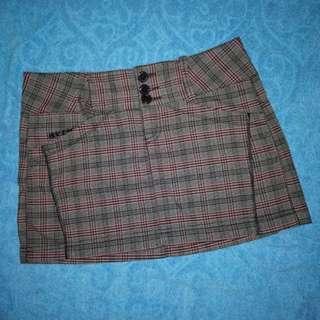 DKNY Plaid Skirt