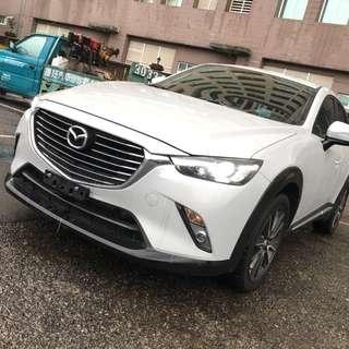 【購車無負擔‧買車夠保障】MAZDA 2016年 CX-3 頂級版 2.0白 服務實在 值得信賴