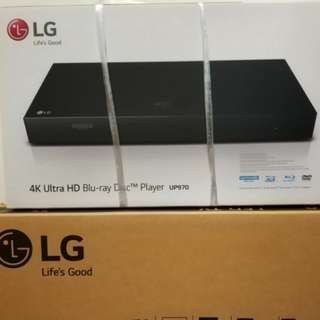 全新 LG UP970 4K Ultra HD Player