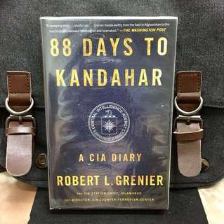 # Highly Recommended《Bran-New + The Improbable True Story Of America's First War In Afghanistan》Robert L. Grenier - 88 DAYS TO KANDAHAR : A CIA DIARY (Former CIA Station Chief, Islamabad + Former Director CIA Counter-Terrorism Center)