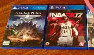 PS4 Game Bundle: Helldivers 2k17