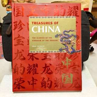 《Bran-New + Hardcover Collection Colour Paper Edition + An Introduction of Great China Arts , Cultures, Historical Treasures and Dynasties 》John Chinnery - TREASURES OF CHINA : The Glories Of The Kingdom of The Dragon