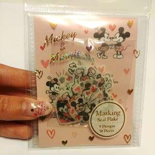 Mickey Minnie貼紙包