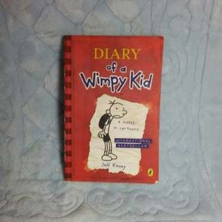 Diary of Wimpy Kids First Edition