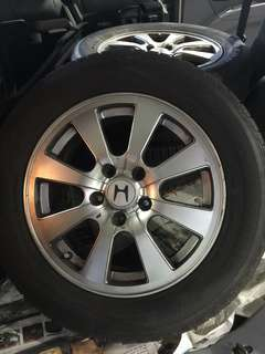 16' Rims with Tyres for Honda Crossroad