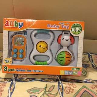 3pcs Rattles and Teethers #bajet20