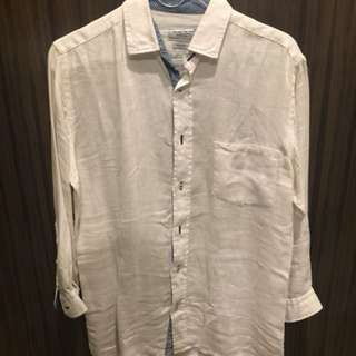 Zara linen shirt for sale!