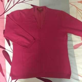 Pre❤️ [FreePostage] Arcadia Pink V-Neck Style Top #Bajet20