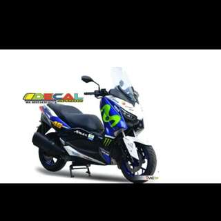 Xmax decal fullbody movistar
