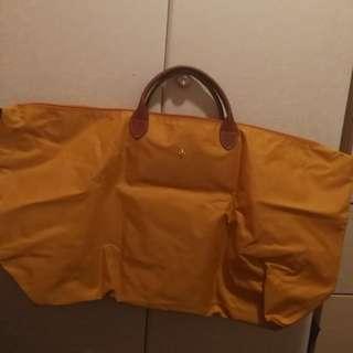九成九新Longchamp 正貨 旅行袋