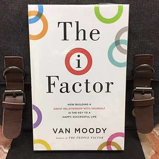 # Highly Recommended《Bran-New + The Key To The Life You Want Is Inside You》Van Moody - THE I-FACTOR : How Building a Great Relationship with Yourself Is the Key to a Happy, Successful Life