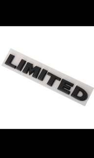 ABS LIMITED Car Badge Logo