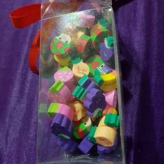 Cute eraser 35pcs pack