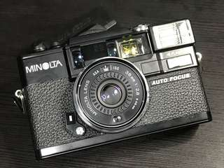 Minolta Hi-Matic AF-D Point and Shoot Camera