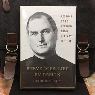 # Highly Recommended《New Book Condition + Hardcover Deckle Edge Edition + The Making Thoughts Of Steve Jobs - Think Big But Start Small》George Beahm - STEVE JOBS'  LIFE BY DESIGN : Lessons to Be Learned from His Last Lecture