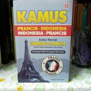 Kamus Bahasa Perancis - Indonesia Penerbit Tera