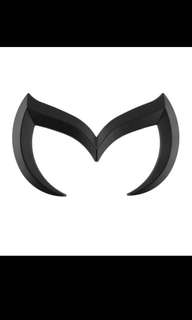Mazda Rear Bat Emblem Logo