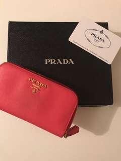 100%real Prada 鎖匙包