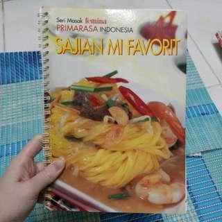 Femina Primarasa Buku Resep Sajian Mi Favorit GAYA FAVORIT PRESS