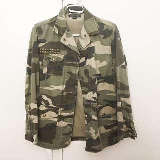 nude lucy camo jacket