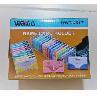 Wago Namecard Holder (Serial #WNC-401T)