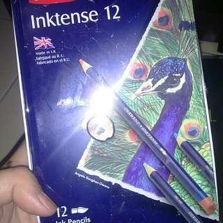Derwent Ink Pencils 12