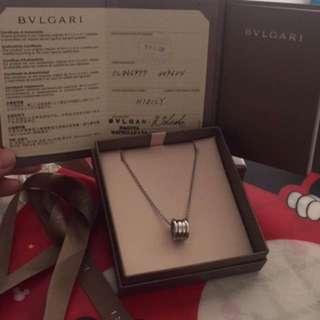 Authentic Bvlgari Zero necklace!