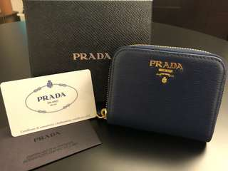 Prada Zippy Coin Purse