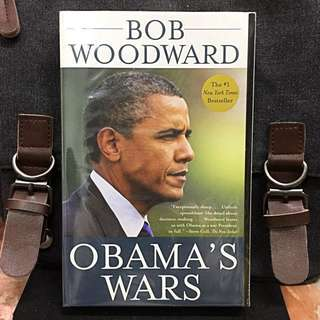 《Bran-New + Shows How Obama Making The Critical Decisions On The Afghanistan War, The Secret War In Pakistan, And Worldwide Fight Against Terrorism》Bob Woodward - OBAMA'S WARS