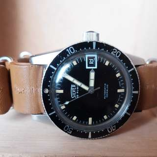 Silver Calypsomatic Diver Watch