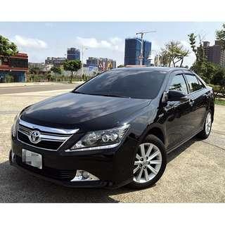 2012年 豐田 油電CAMRY 2.5L 黑 全原廠保養 一手車輛 全車原版件 可認證 可回原廠檢驗 可來店試乘~