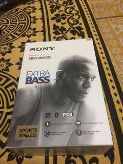 Sony Wireless headphones with great BASS!