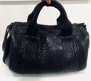 Authentic Alexander Wang Rocco bag Full Black