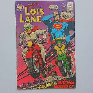 DC Comics  Lois Lane Superman's Girlfriend 83 Very Fine Condition