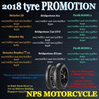 Motorcycle Tyre PROMOTION
