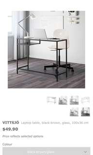 IKEA VITTSJÖ Laptop table desk