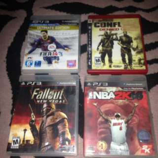 Ps3 Game for Sale 3 for 499 plus 1 free bioshock 2
