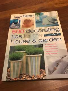 500 decorataing tips for the house and garden