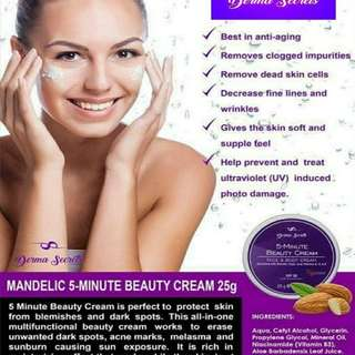 Benefit of 5 minutes beauty cream