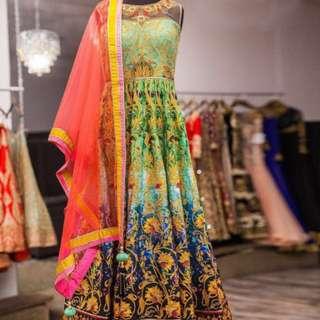 Fancy Satin Gown