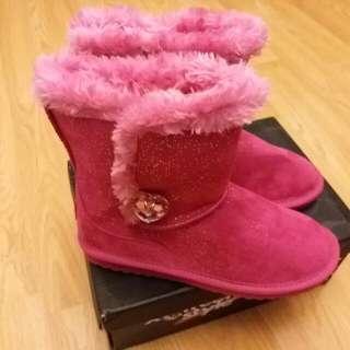 蝕賣 全新女童boot 靴 內長23cm