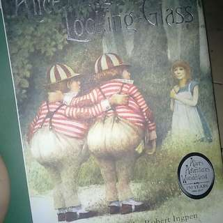 Alice Through The Looking Glass Lewis Carroll