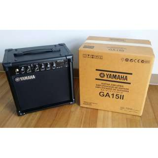 Yamaha Guitar Amplifier GA15II   (GOOD AS NEW!!)