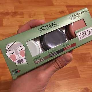 Loreal Trio Clay Mask