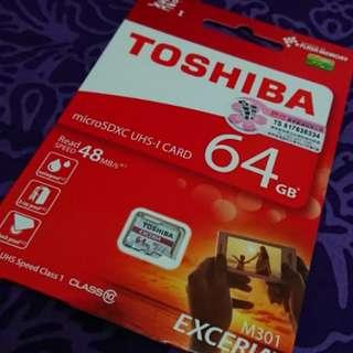 Toshiba 64GB micro SD