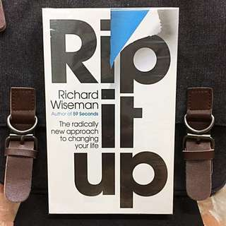 # Highly Recommended《Bran-New + How To Unleash Your Hidden Porential》Richard Wiseman - Rip It Up : The Radically New Approach To Changing Your Life